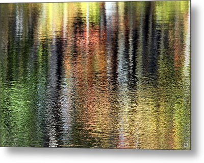 Messalonskee Reflection 2 Metal Print