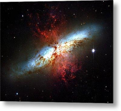 Messier 82 Metal Print by Ricky Barnard