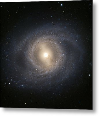 Messier 95 Galaxy Metal Print