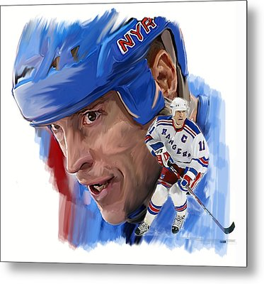 Messier II Mark Messier Metal Print