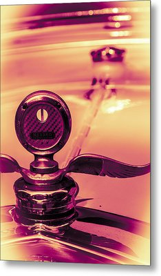 Messko Thermometer Metal Print by Bartz Johnson