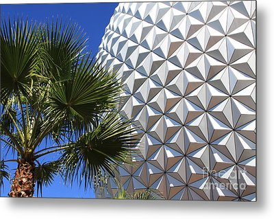 Metal Print featuring the photograph Metal Earth by Chris Thomas