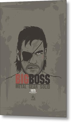 Metal Gear Solid V Ground Zeroes  Metal Print