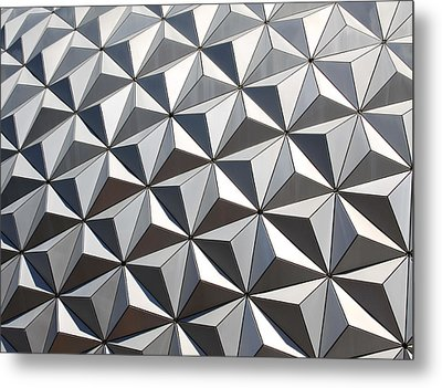 Metal Print featuring the photograph Metal Geode by Chris Thomas