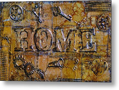 Metal Home Metal Print by Kenneth Feliciano