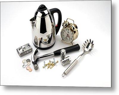 Metal Household Objects Metal Print