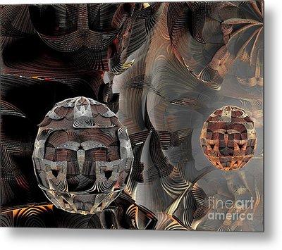 Metal Spheres Metal Print by Bernard MICHEL