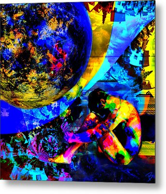 Metamorphosis 2 Metal Print by Barbs Popart