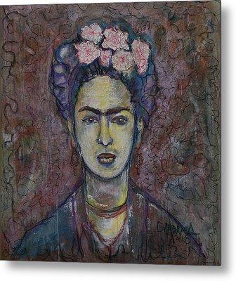 Metamorphosis Frida Metal Print by Laurie Maves ART