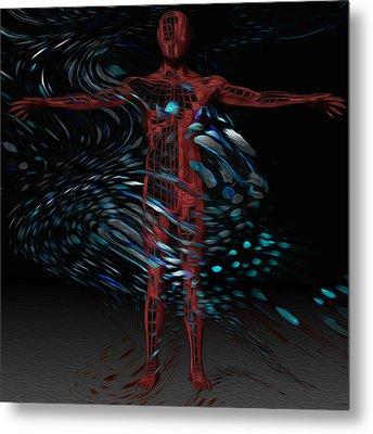 Metamorphosis Metal Print by Jack Zulli