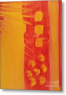 Transition   Metal Print by Olivia  M Dickerson