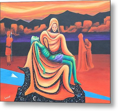 Metaphor Or Every Mother's Son Metal Print
