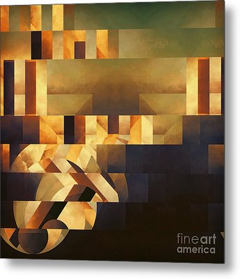 Metaphysical Action Metal Print by Lonnie Christopher