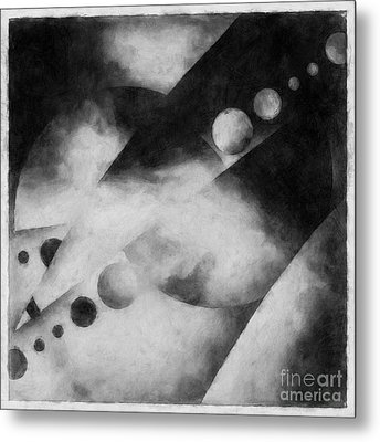 Metaphysical Sketches Metal Print by Lonnie Christopher