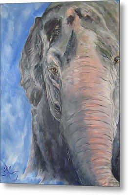 The Elder, Methai An Elephant Metal Print