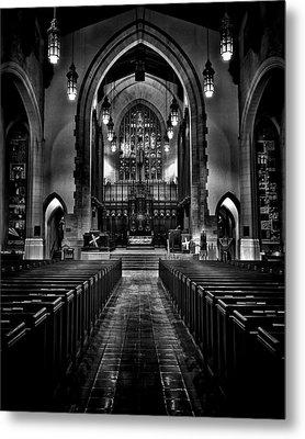 Metropolitan United Church 1 Toronto Canada Metal Print by Brian Carson