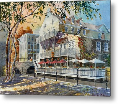 Mex And Co Restaurant Metal Print