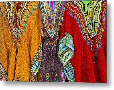 Mexican Colors Metal Print by John  Bartosik