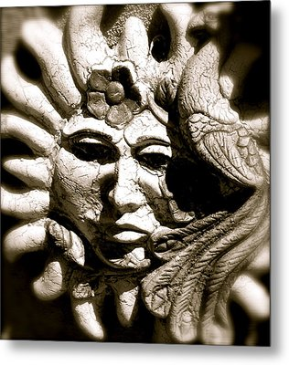 Mexican Sun Metal Print by Kim Pippinger