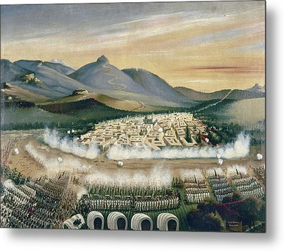 Mexico Reform War, 1860 Metal Print by Granger
