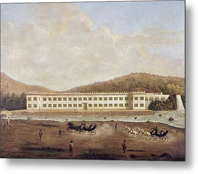 Mexico Textile Factory Metal Print by Granger