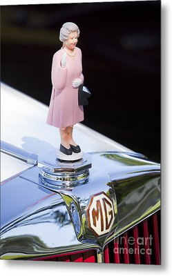 Mg Waving Queen Metal Print