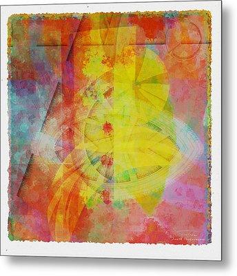 Mgl - Abstract Soft Smooth 02 Metal Print