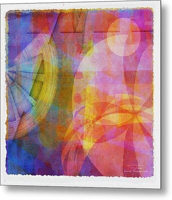 Mgl - Abstract Soft Smooth 04 Metal Print