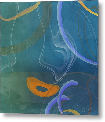 Mgl - Abstract Twirl 04 Metal Print