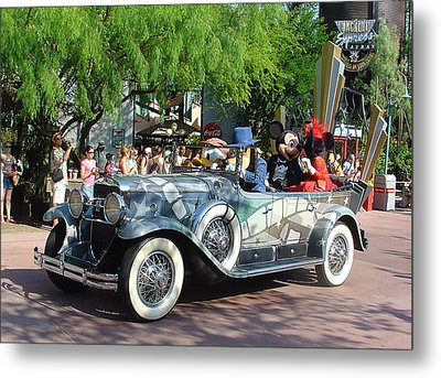 Metal Print featuring the photograph Mgm Famous 4 by David Nicholls