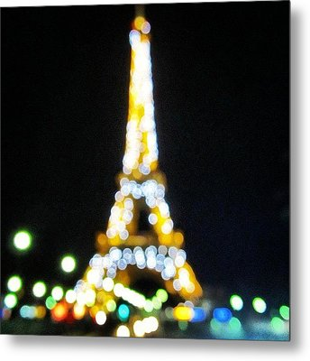 #mgmarts #paris #france #europe #eiffel Metal Print by Marianna Mills