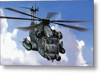 Mh-53j Pavelow IIi Metal Print by Dale Jackson