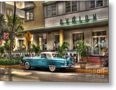 Miami Beach Art Deco 1 Metal Print