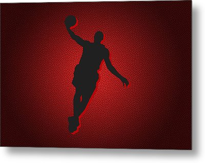 Miami Heat Lebron James Metal Print by Joe Hamilton