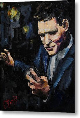 Michael Buble Metal Print by Carole Foret
