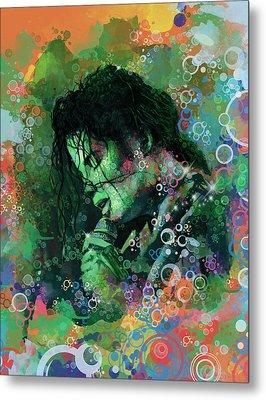 Michael Jackson 15 Metal Print