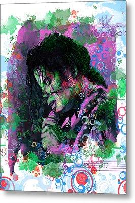 Michael Jackson 16 Metal Print