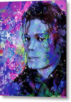 Michael Jackson 17 Metal Print by Bekim Art