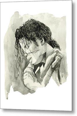 Michael Jackson 3 Metal Print by Bekim Art