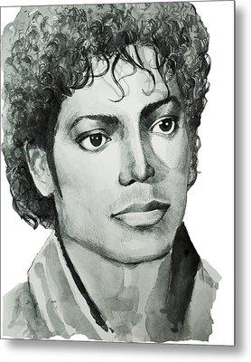 Michael Jackson 7 Metal Print by Bekim Art