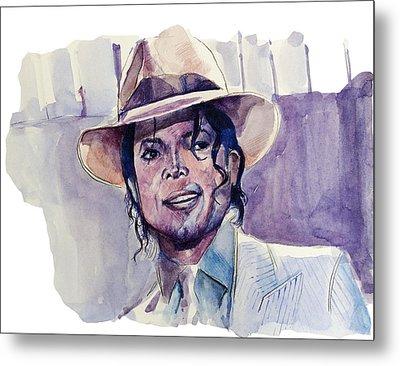 Michael Jackson 9 Metal Print by Bekim Art