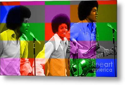 Michael Jackson And The Jackson 5 Metal Print