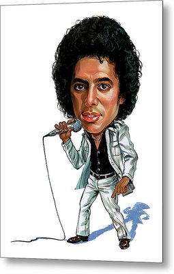 Michael Jackson Metal Print by Art