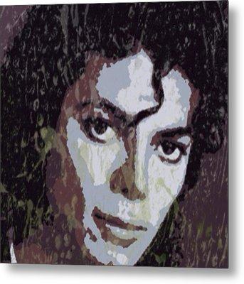 Michael Jackson Concert 4 Metal Print