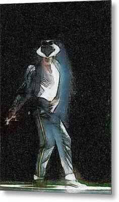 Michael Jackson Metal Print by Georgi Dimitrov