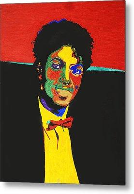 Michael Jackson Metal Print by Stormm Bradshaw