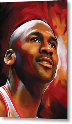 Michael Jordan Artwork 2 Metal Print by Sheraz A