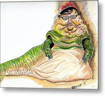 Michael Moore Metal Print