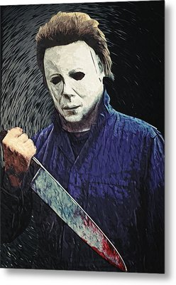 Michael Myers  Metal Print