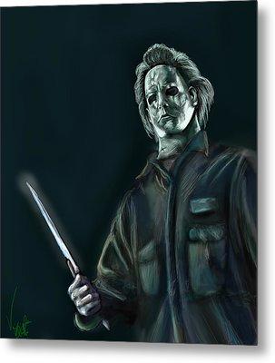 Michael Myers Metal Print by Vinny John Usuriello